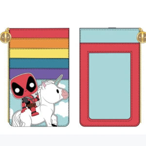 Deadpool - Unicorn Rainbow 30th Card Holder