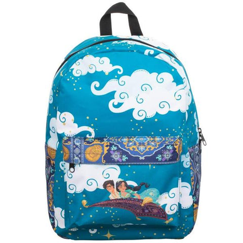 Aladdin Sublimated Panel Print Backpack