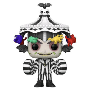 Beetlejuice - Beetlejuice with Hat US Exclusive Pop! Vinyl