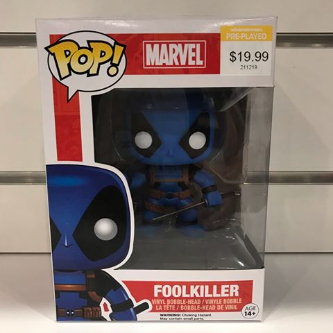 Deadpool - Foolkiller Blue Pop! Vinyl
