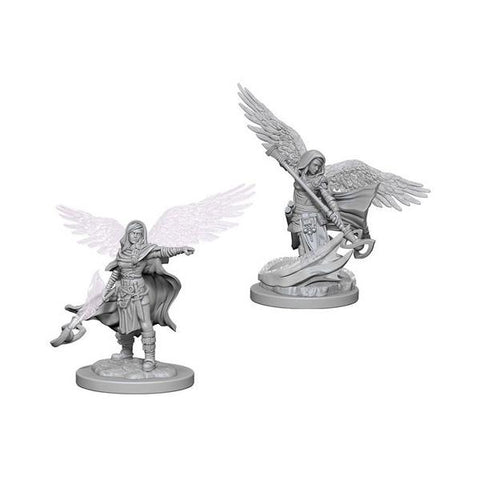 D&D - Unpainted Aasimar Female Wizard
