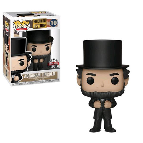 American History - Abraham Lincoln US Exclusive Pop! Vinyl