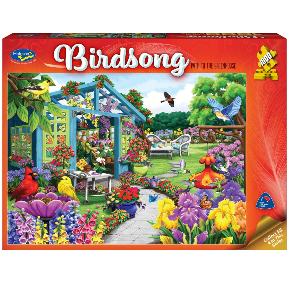 Holdson - Birdsong - Path to the Greenhouse 1000pc Puzzle