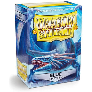 Dragon Shield Box 100 Blue Matte Sleeves