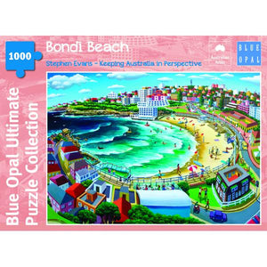 Blue Opal - Stephen Evans Bondi Beach 1000pc