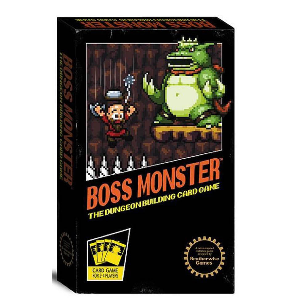 Boss Monster The Dungeon Building Bgame