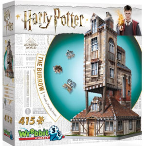 Wrebbit - Harry Potter 3D Hogwarts - The Burrow 415pc Puzzle