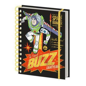 Toy Story 4 Buzz Retro Notebook