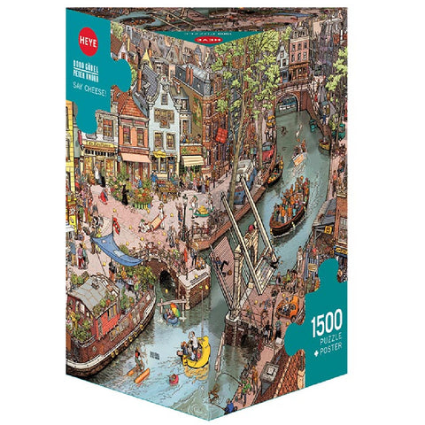HEYE GOBEL/KNORR,SAY CHEESE! PUZZLE 1500pc