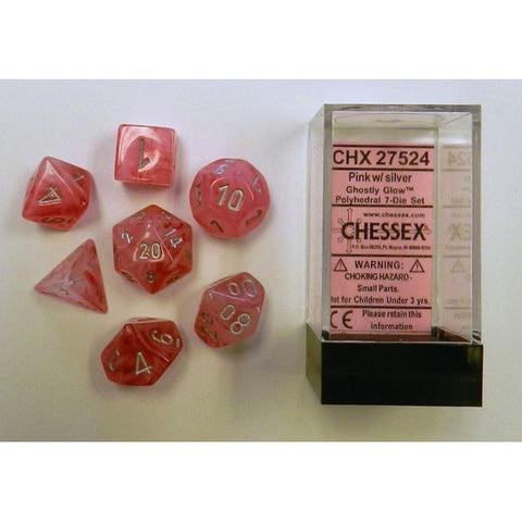 CHX 27524 Ghostly Glow Pink/Silver 7-Die Set