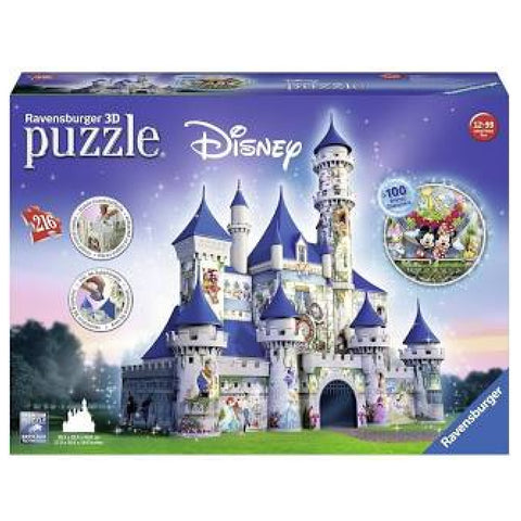 Ravensburger - Disney Castle 3D Puzzle 216pc (See Display In Store)