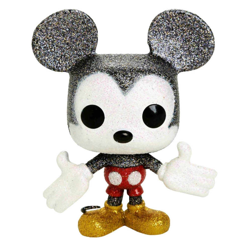 Mickey Mouse Diamond Glitter Pop! Vinyl