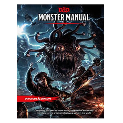 D&D 5th Ed Monster Manual