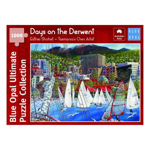 Blue Opal - Esther Shohet Days on the Derwent 1000pc