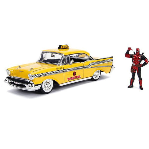 Deadpool - Chevy Yellow Taxi 1:24 Hollywood Ride