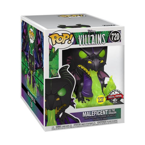 "Sleeping Beauty - Maleficent as Dragon with Flames Metallic Glow US Exclusive 6"" Pop! Vinyl"