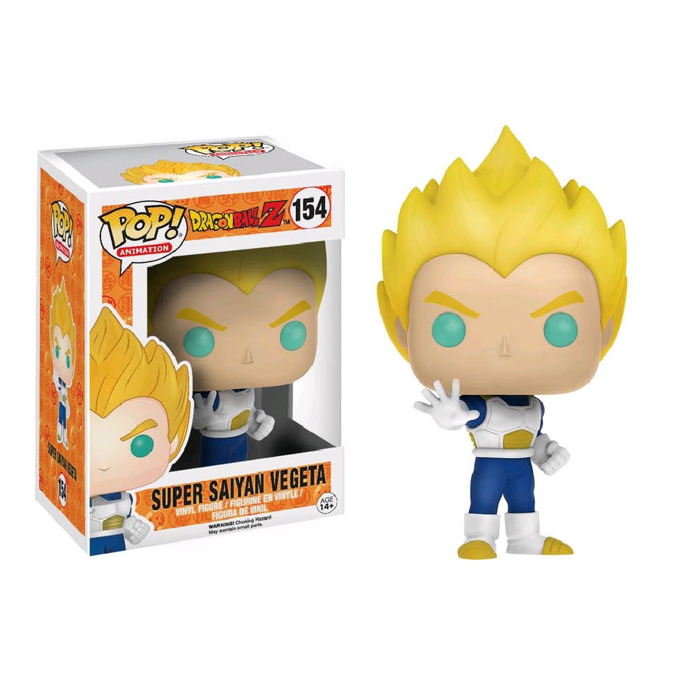 Dragon Ball Z - Vegeta Super Saiyan Blue and White US Exclusive Pop! Vinyl