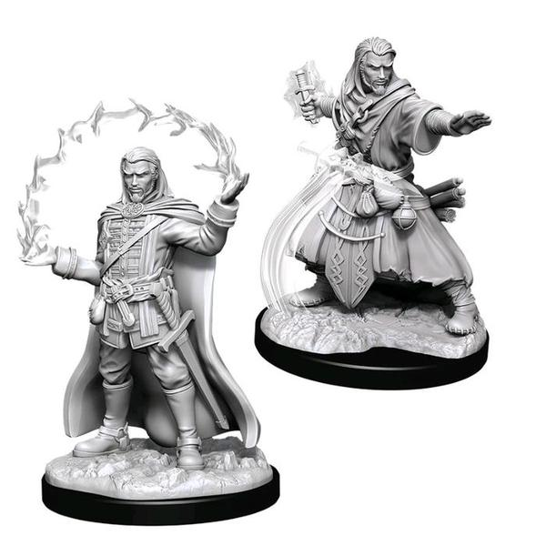 D&D Nolzurs Marvelous Unpainted Miniatures Male Human Wizard