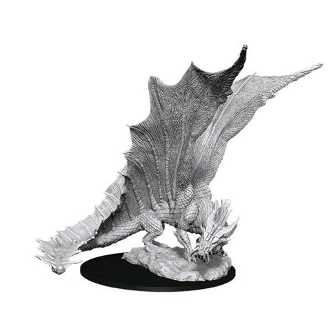 D&D Nolzurs Marvelous Unpainted Miniatures Young Gold Dragon