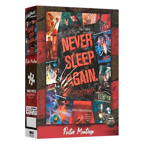 Nightmare On Elm Street - Poster Montage 1000pc Puzzle