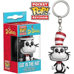 Dr Seuss - Cat In The Hat Pop! Keychain