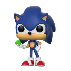 Sonic the Hedgehog - Sonic with Emerald Pop! Vinyl