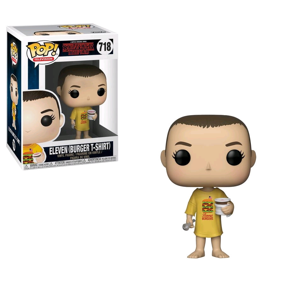 Stranger Things - Eleven in Burger Shirt Pop! Vinyl