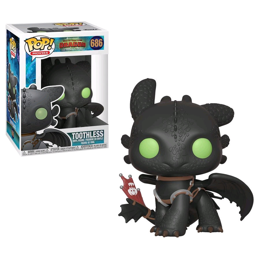 How to Train Your Dragon 3: The Hidden World - Toothless Pop! Vinyl