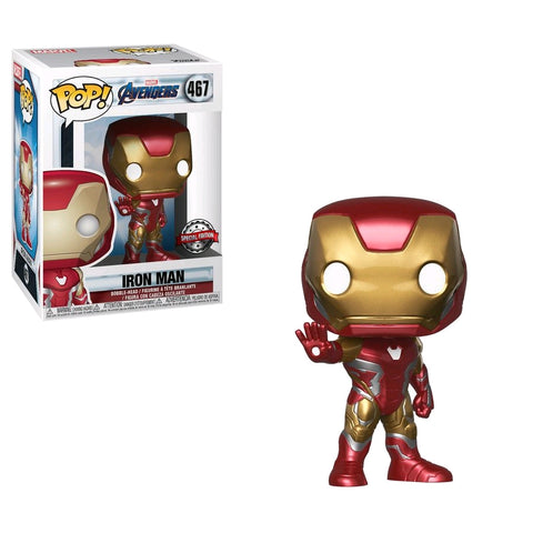 Avengers 4: Endgame - Iron Man US Exclusive Pop! Vinyl