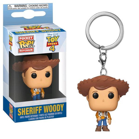Toy Story 4 - Woody Pocket Pop! Keychain