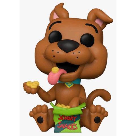 Scooby Doo - Scooby with Snacks US Exclusive Pop! Vinyl