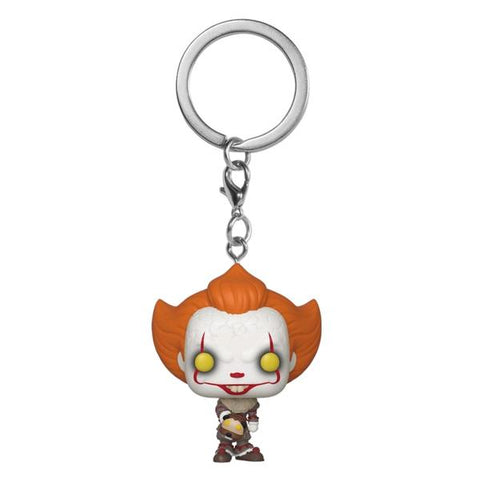 It ch2 - Pennywise w/Beaver Hat Pop! Keychain