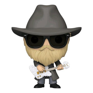 ZZ Top - Dusty Hill Flocked Pop! Vinyl