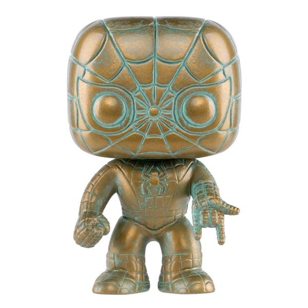 Spider-Man - Marvel 80th Anniversary Patina Pop! Vinyl