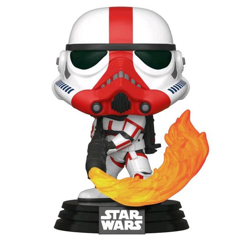 Star Wars: The Mandalorian - Incinerator Stormtrooper Pop! Vinyl