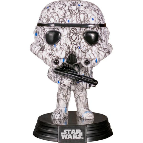 Star Wars - Stormtrooper (Futura) Pop! Vinyl with Protector