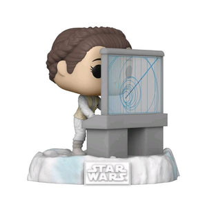 Star Wars - Leia US Exclusive Pop! Deluxe Diorama