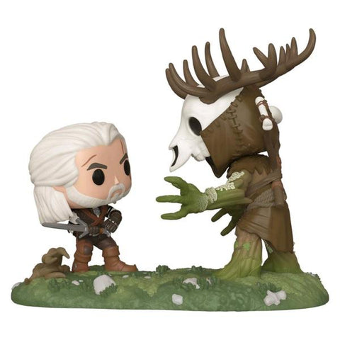 The Witcher 3: The Wild Hunt - Geralt vs Leshen US Exclusive Pop! Moment