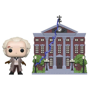 Back to the Future - Doc with Clock Tower Pop! Town