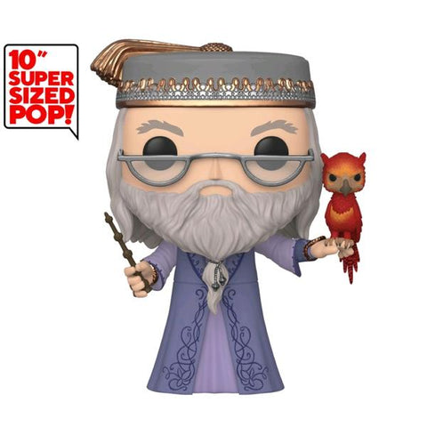 "Harry Potter - Dumbledore with Fawkes 10"" Pop! Vinyl"
