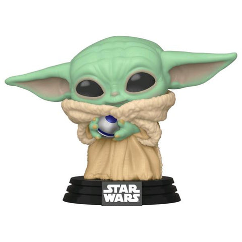 Star Wars: Mandalorian - The Child with Ball US Exclusive Pop! Vinyl