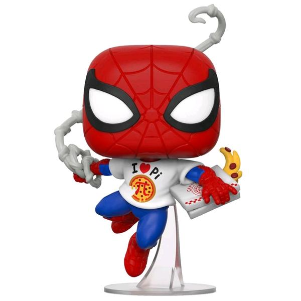 Spider-Man - Spider-Man with Pi Shirt US Exclusive Pop! Vinyl