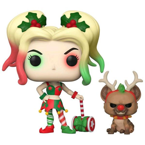 Batman - Harley with Bruce Holiday Pop! Vinyl