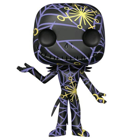 The Nightmare Before Christmas - Jack (Artist) Black & Yellow US Exc Pop! with Protector