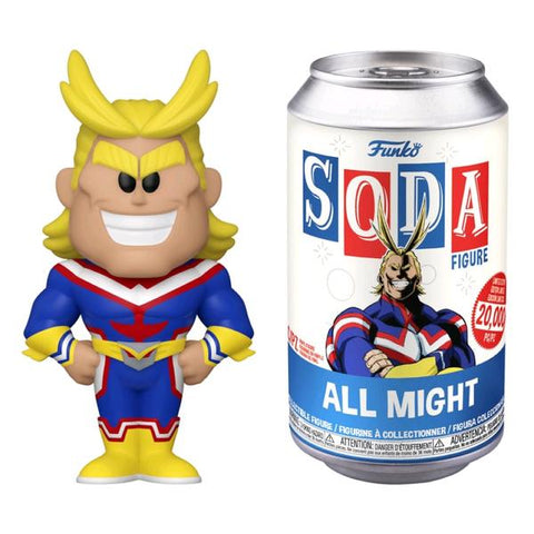 My Hero Academia - All Might Vinyl Soda
