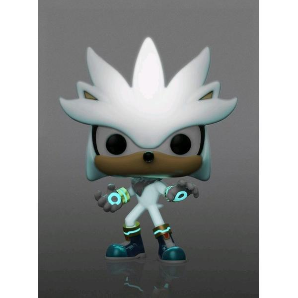 Sonic the Hedgehog - Silver Glow 30th Anniversary US Exclusive Pop! Vinyl