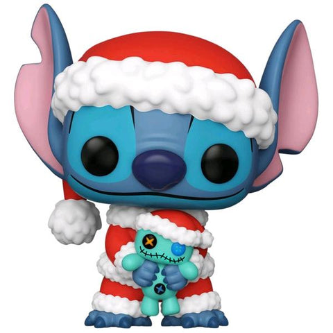 Lilo & Stitch - Santa Stitch with Scrump US Exclusive Pop! Vinyl