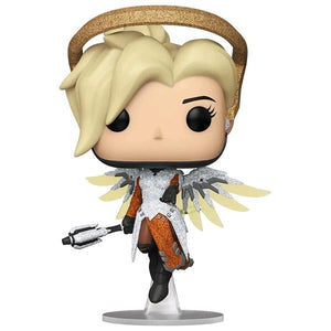 Overwatch - Mercy Blizzard 30th Anniversary Diamond Glitter US Exclusive Pop! Vinyl