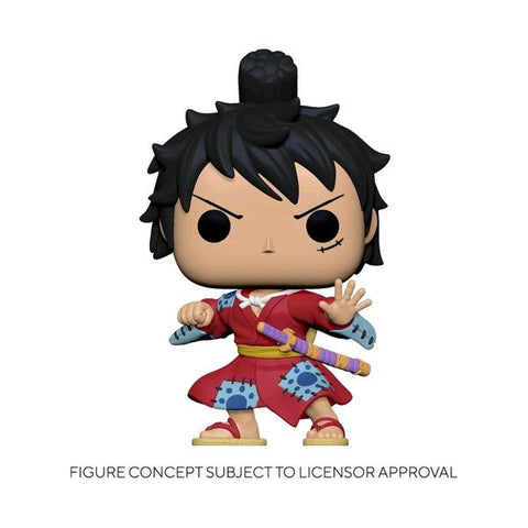 One Piece - Luffy in Kimono Metallic US Exclusive Pop! Vinyl