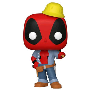 Deadpool - Construction Worker Deadpool 30th Anniversary US Exclusive Pop! Vinyl